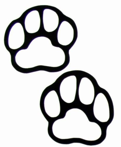10+ Tiger paw clipart black and white info