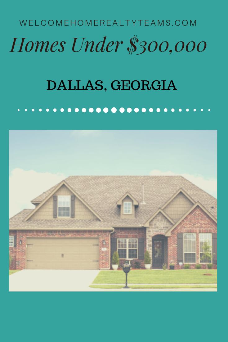 These Dallas, Georgia Real Estate Listings are all Dallas