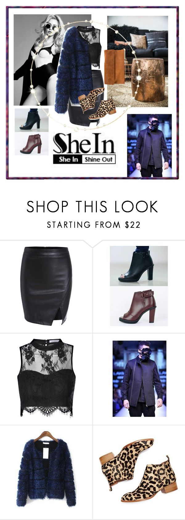 """""""She In"""" by mariiijana ❤ liked on Polyvore featuring COII, Glamorous and Jeffrey Campbell"""