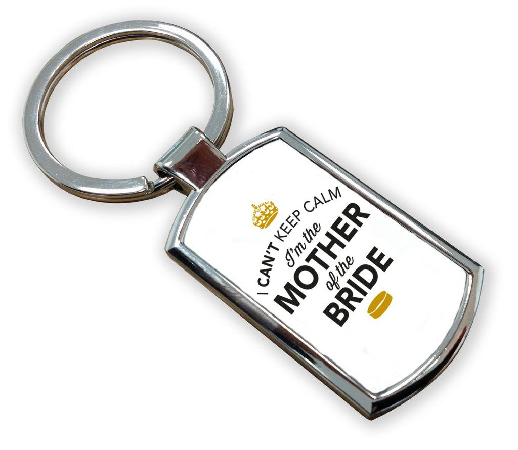 Mother Of The Bride, Wedding Gift, Keyring, Wedding Gift Idea, Stag ...