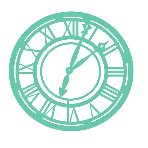 Kaisercraft - Stencils Template - Clock | Stencil Templates And