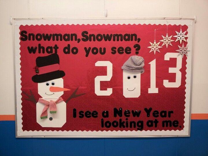 January Bulletin Board Ideas Boards Preschool Winter