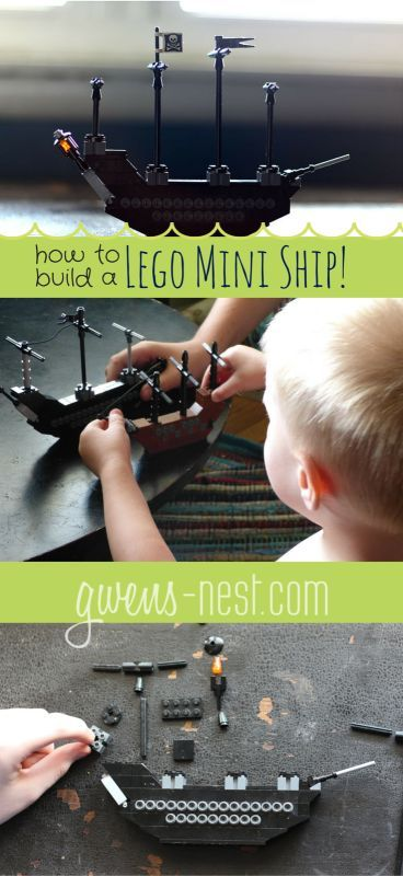Lego Ship Instructions Lego Love Pinterest Lego Ship Free