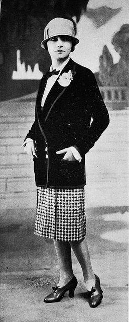 Les Modes (Paris) 1926 Tailleur par Bernard | Fashion ...