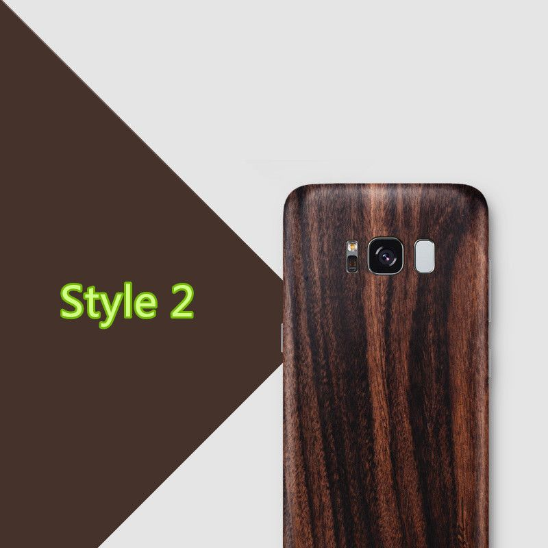 Creative Samsung Note 9 8 S8 S7 Edge Solid Wood Case SG803