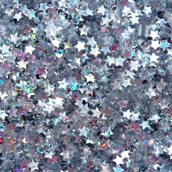 Silver Glitter Aesthetic Wallpaper