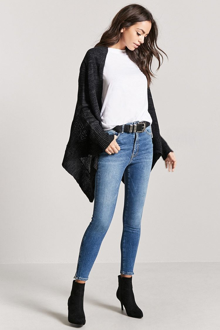Jeans Skinny Tiro Alto Mujer Pantalones Faldas Jeans 2000160971 Forever 21 Eu Espanol Fashion Womens Clothing Tops Hat Fashion