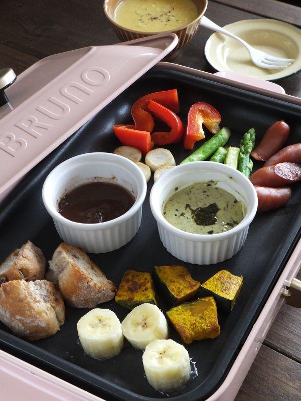 Photo of 2種のディップソースで食べる♪ホットプレートフォンデュ by 小澤 朋子 / レシピサイト Nadia | ナディア – プロの料理家のおいしいレシピ