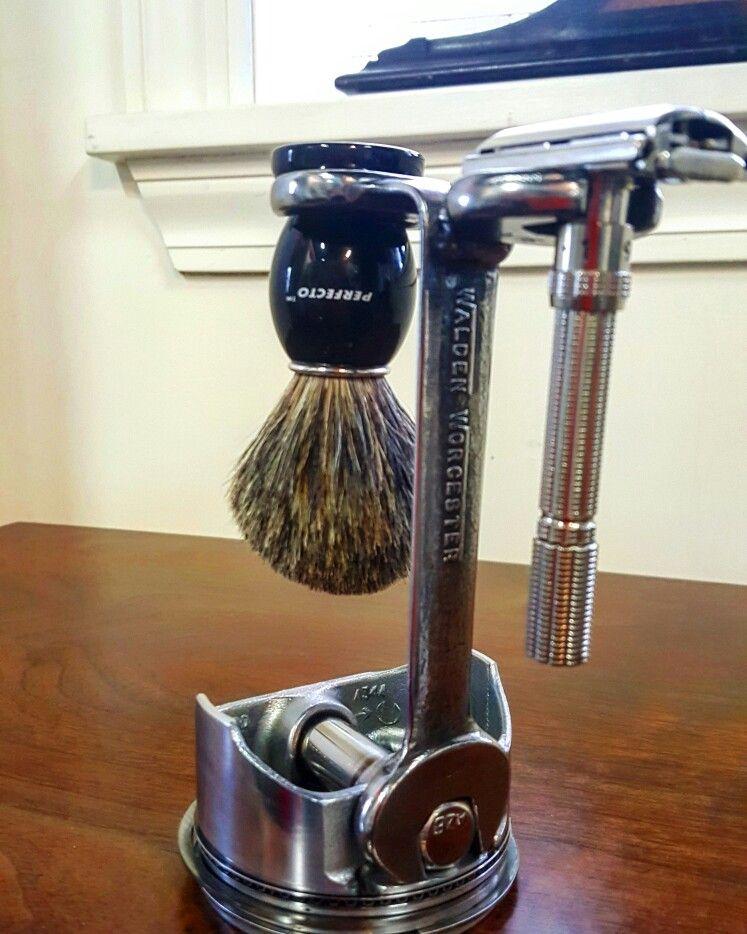 Safety Razor Stand Shaving stand, Wet shaving, Safety