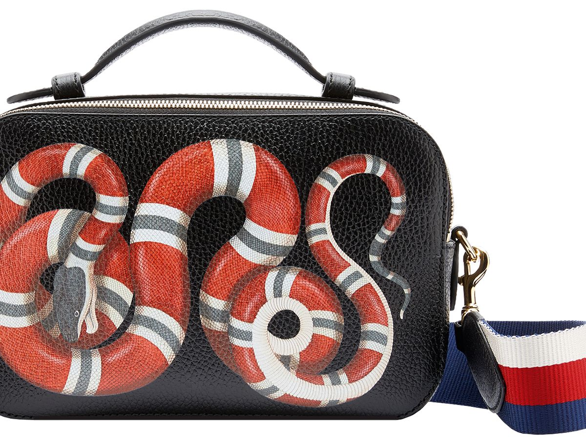 10d35d90309 Gucci Cruise 2017 Coral Snake Messenger – BAGAHOLICBOY