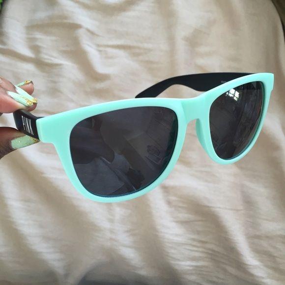 NIP VS Pink Wayfarers  Really cute • never worn • VS PINK sunglasses • mint green PINK Victoria's Secret Accessories Sunglasses