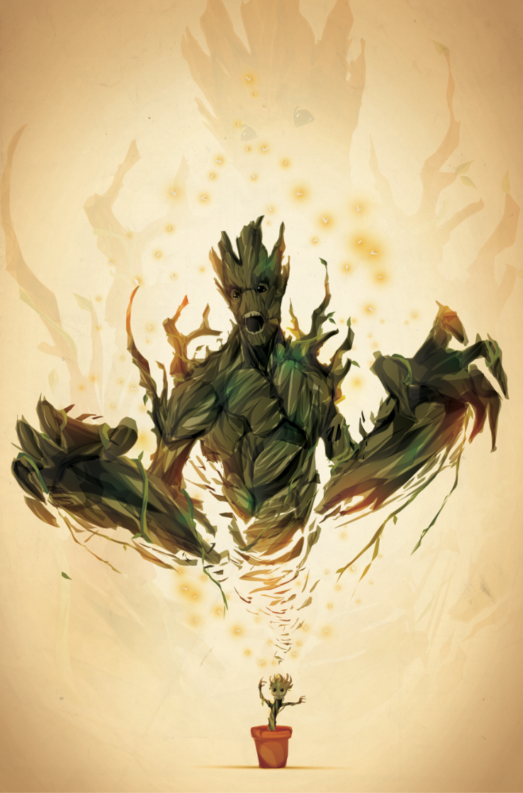 I AM GROOT. by ChasingArtwork.deviantart.com on @deviantART #groot #guardiansofthegalaxy
