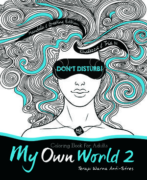 My Own World 2 Coloring Book For Adults