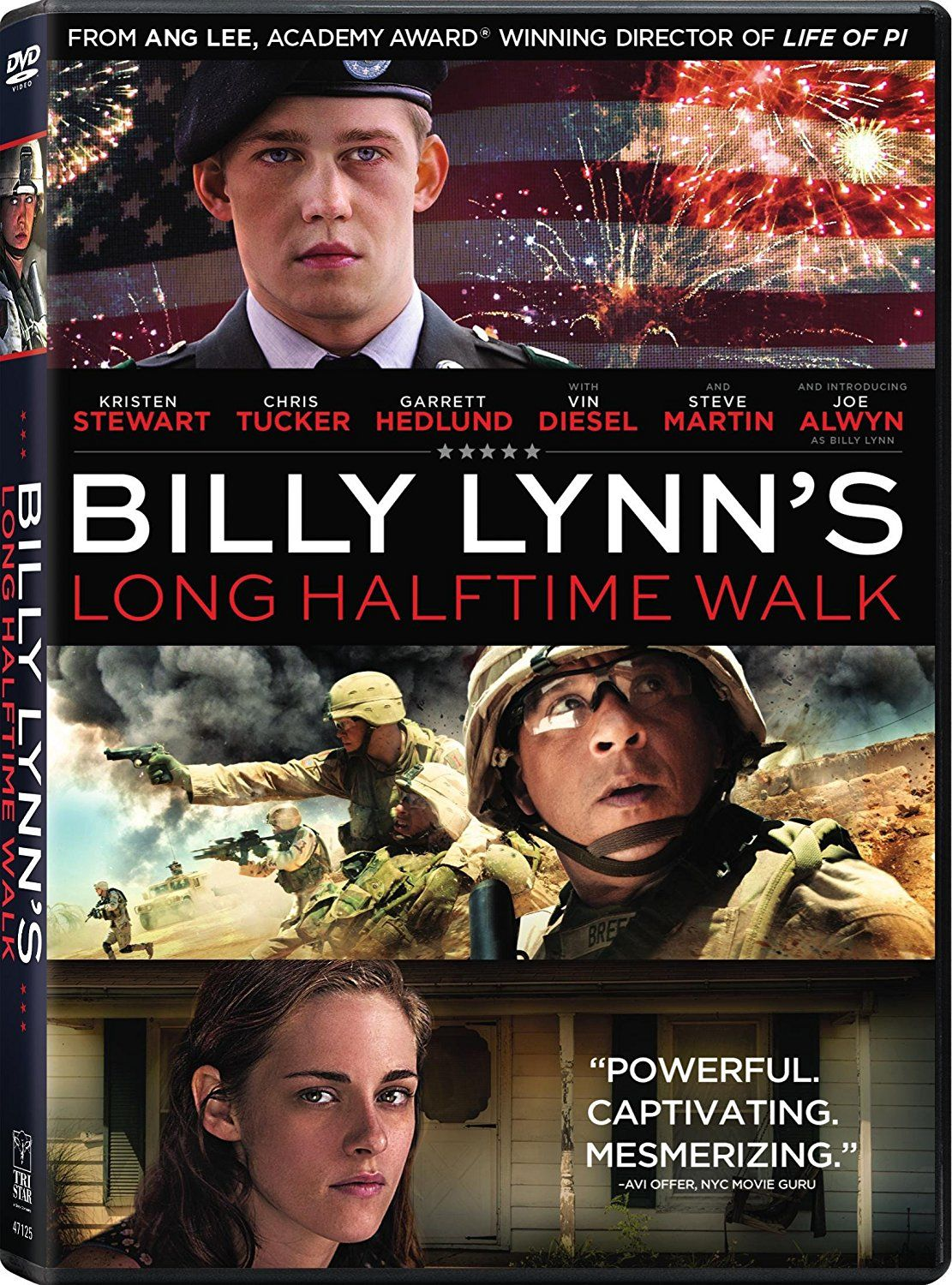 New on DVD and Bluray February 14, 2017 Billy lynn