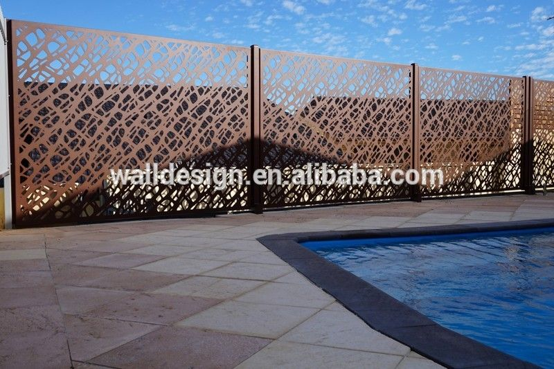 Corten Steel Decorative Perforated Metal Panels Used For Garden Fence View Metal Panel Yi Exterior Wall Panels Exterior Wall Cladding Perforated Metal Panel