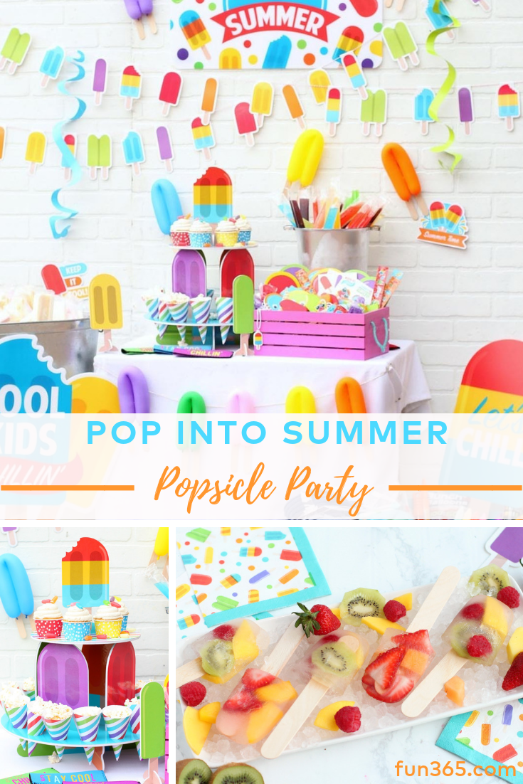 Summer Party Ideas Summer Birthday Themes Summer Birthday Party