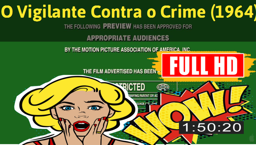 Watch O Vigilante Contra o Crime (1964) Movie online : http://movimuvi.com/youtube/Tk1HaTdDa1pFSnRWUGxIdWNkbEU2Zz09  Download: http://bit.ly/OnlyToday-Free   # #WatchMovieOnline #WatchMovie #FreeMovie #MovieOnline
