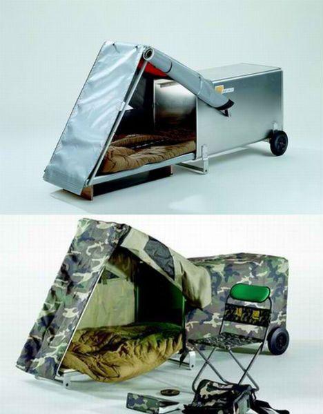 Housing For The Homeless 14 Smart Sensitive Solutions Portable Shelter Camping Survival Survival Shelter