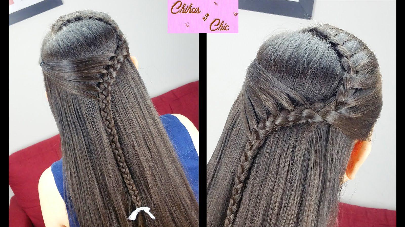 Diadema sostenida pull back headband peinados faciles - Trenzas peinados faciles ...