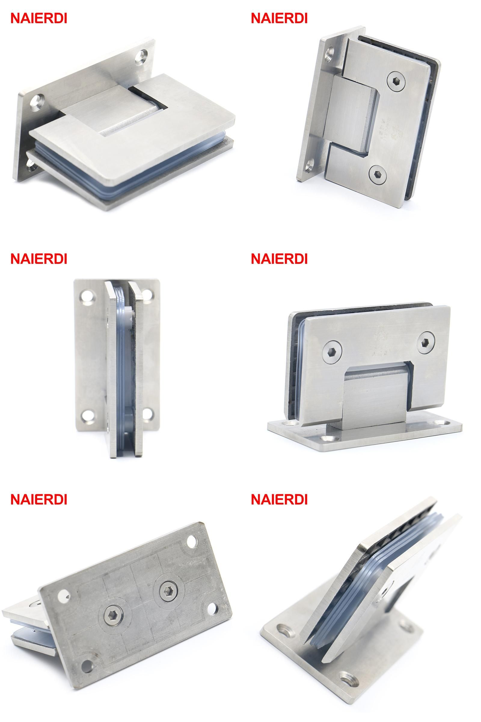 Visit To Buy 2pcs Naierdi 4913 90 Degree Open 304 Stainless Steel Wall Mount Glass Shower Door Hinge For Home With Images Glass Shower Door Hinge Shower Doors Steel Wall