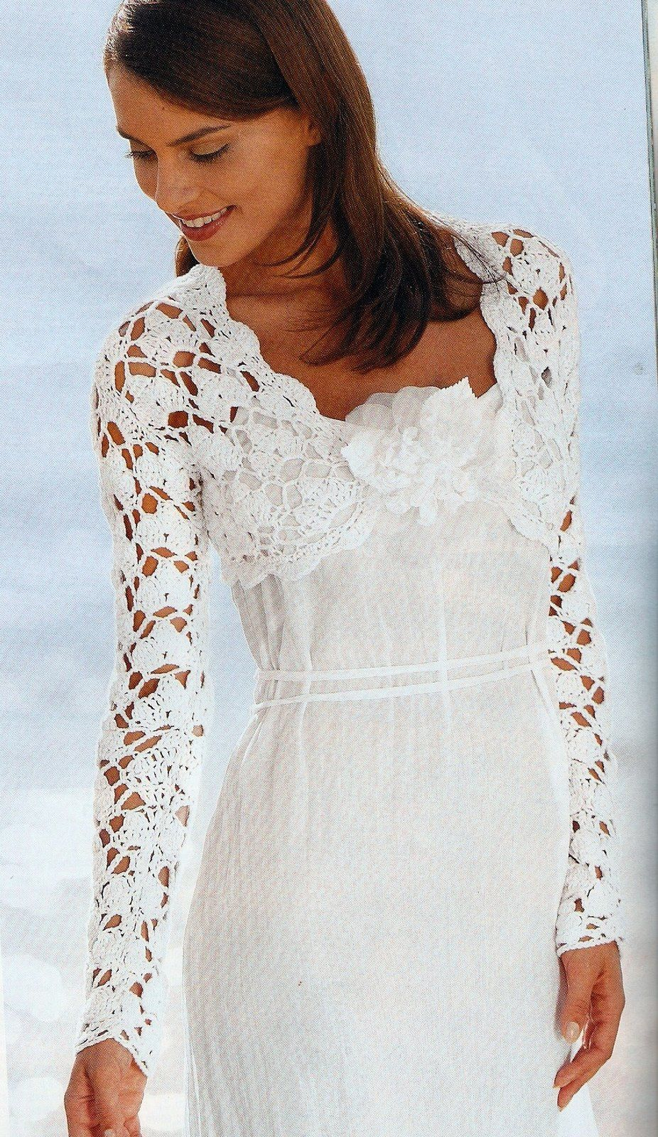 Imagen de boleros en crochet - Imagui | lana fina | Pinterest ...