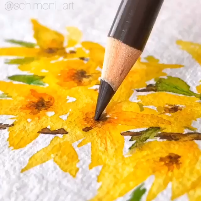Flower Watercolor Watercolor Tutorial
