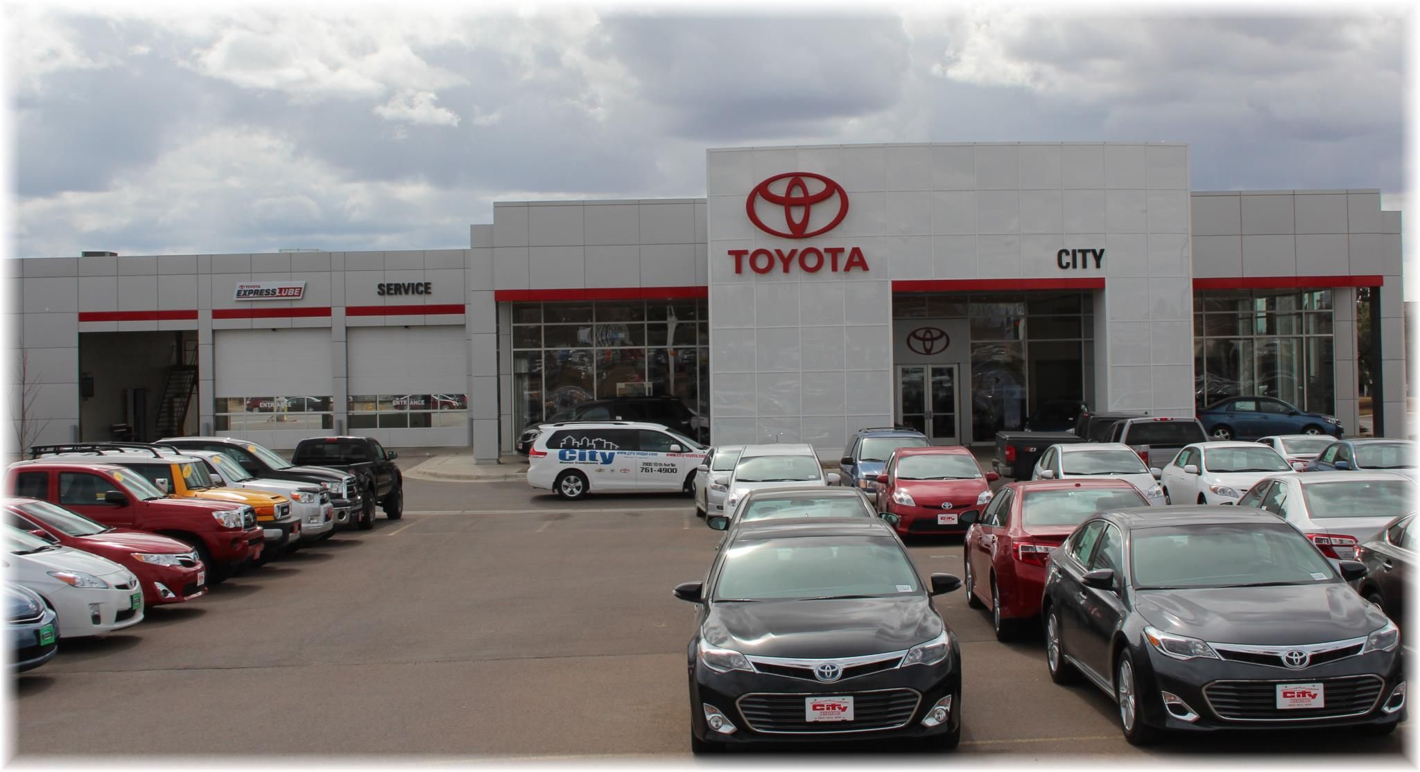 City Motor Company Is A Great Falls Toyota Dealer And A New Car And