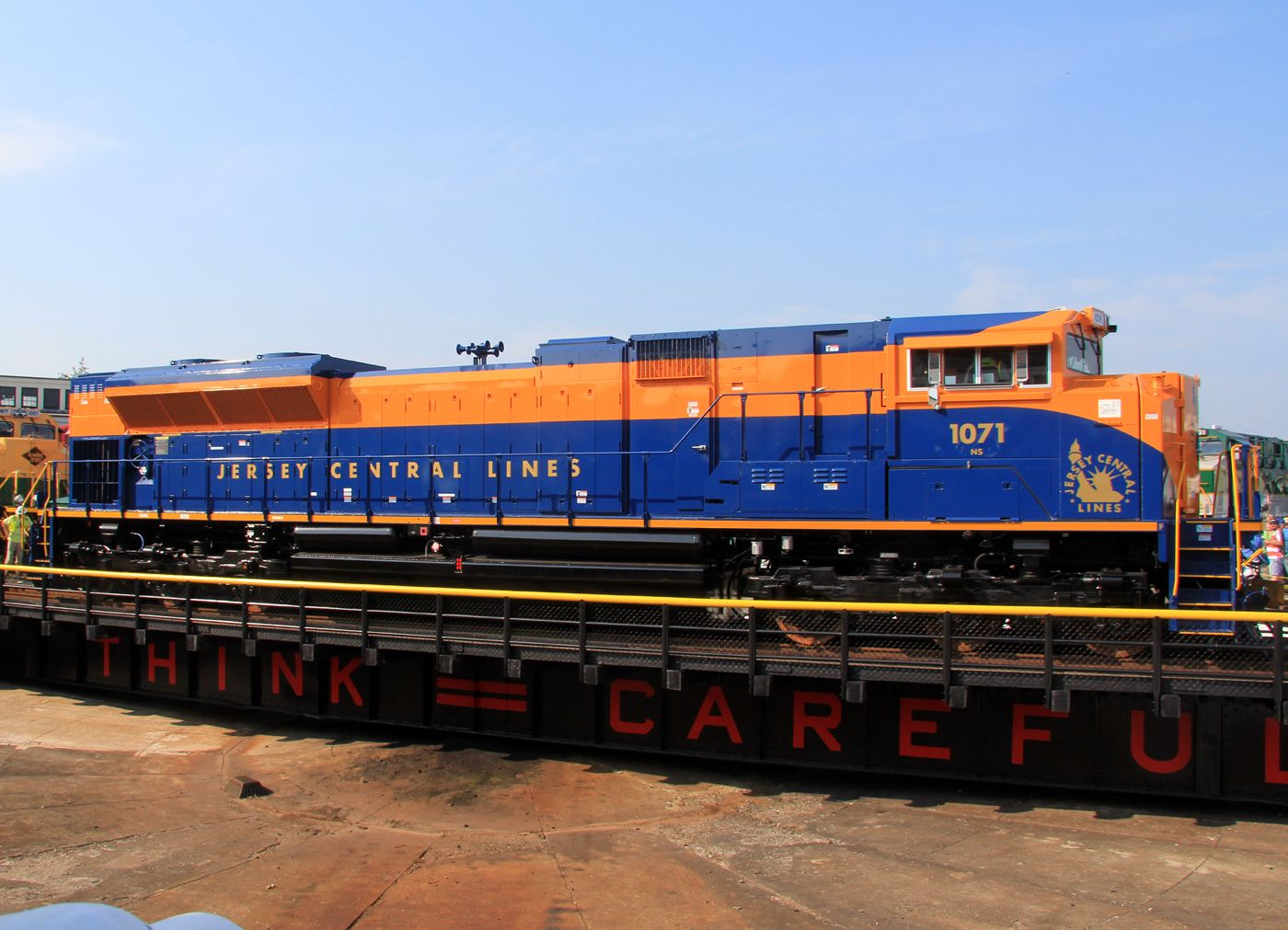 jersey central lines images 1071   Aeromoe's Norfolk Southern Heritage Units Adventure