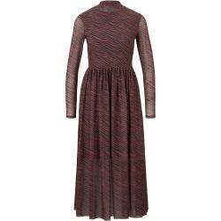 Vestido midi estampado para mujer Tom Tailor Denim, marrón, talla xs Tom TailorTom Tailor