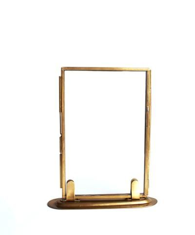 Double Sided Glass Picture Frame Brass 2 Sizes Available Glass Picture Frames Glass Pictures Picture Frames