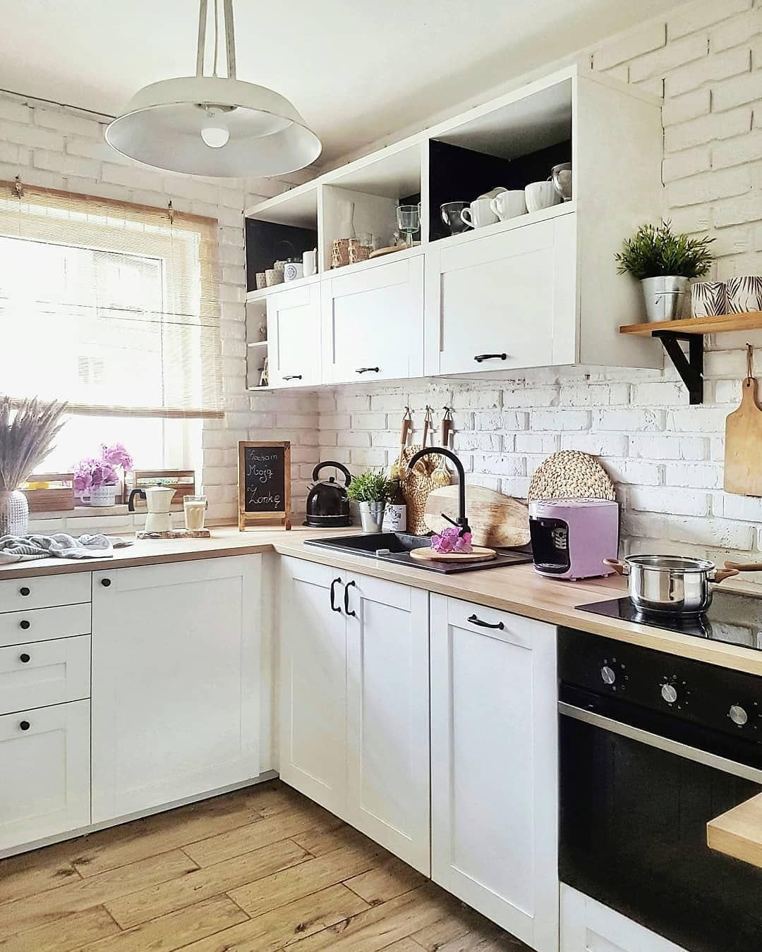 Cucina Bianca E Nera pin di anita21 su cocinas (con immagini) | cucina bianca