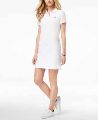c8f1c158 Tommy Hilfiger Sport Polo Dress, Created for Macy's - White XS ...