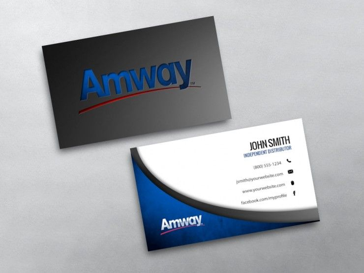 Amway Business Card 06 Amway Business Amway Free Business Cards