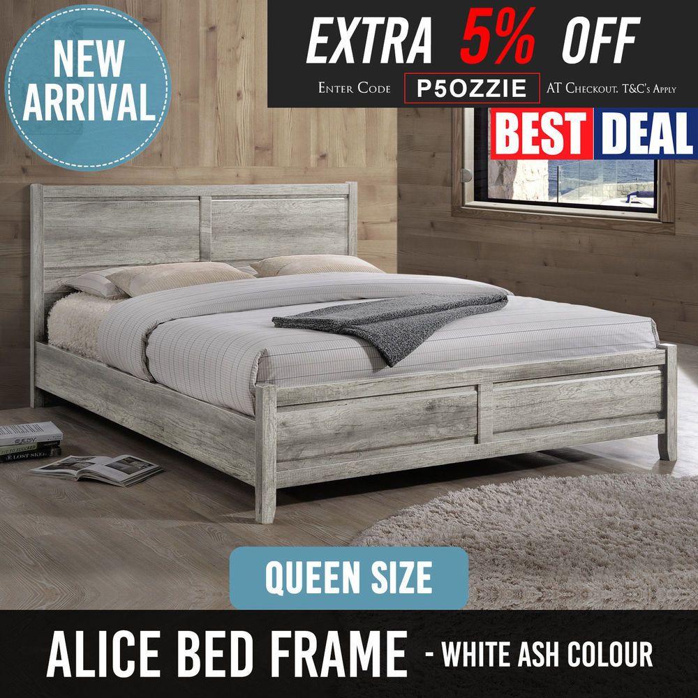 Dane Bed freedom Queen bed frame, King bed frame, Bed