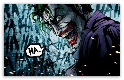 The Joker Illustration Wallpaper Harley Quinn Comic Marvel Dc Comics Cartoon