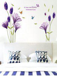a5435a77d0a85 Mariposas Flower Letter Decorativo Decorativos de pared