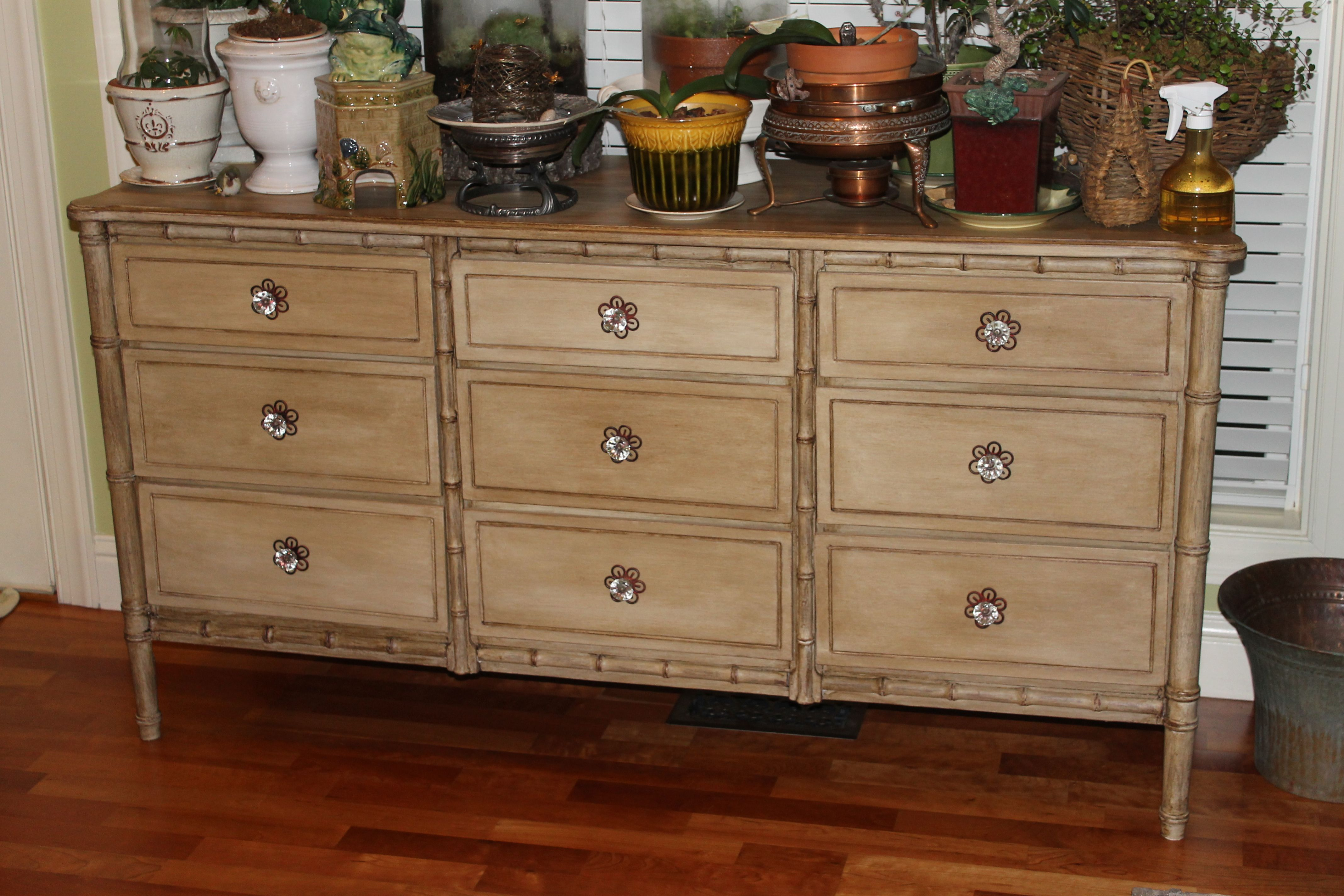 $45 Goodwill find refurbished with Annie Sloan Chalk Paint and new ...