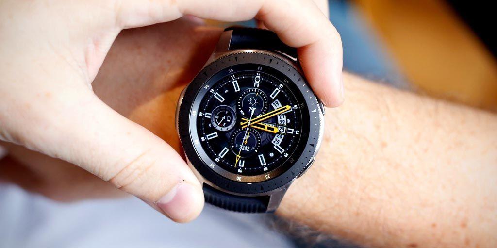 Samsung Galaxy Watch Samsung galaxy, Smart watch, Cool
