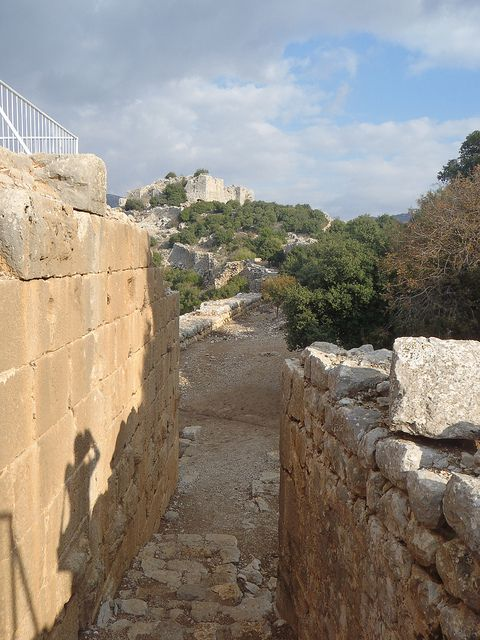 Nimrod Fortress, Golan Heights, Israel