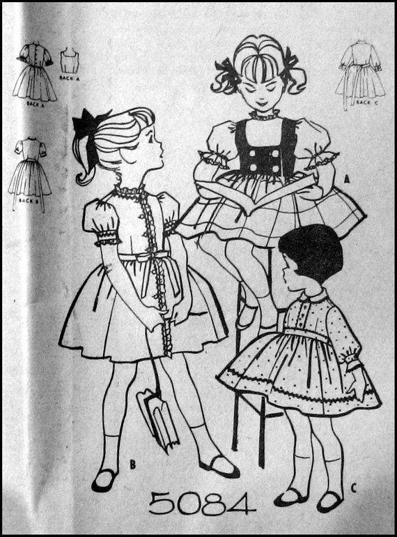 Vintage 1959-Charming Toddler Dress-Sewing Pattern-Three Styles-Contrast Weskit-Twirl Skirt-Rick Rack & Lace Trim-Size 6-Rare #twirlskirt Vintage 1959-Cutielicious Toddler Dress-Sewing Pattern-Three Styles-Contrast Weskit-Twirl Skirt-Rick #twirlskirt Vintage 1959-Charming Toddler Dress-Sewing Pattern-Three Styles-Contrast Weskit-Twirl Skirt-Rick Rack & Lace Trim-Size 6-Rare #twirlskirt Vintage 1959-Cutielicious Toddler Dress-Sewing Pattern-Three Styles-Contrast Weskit-Twirl Skirt-Rick #twirlskirt