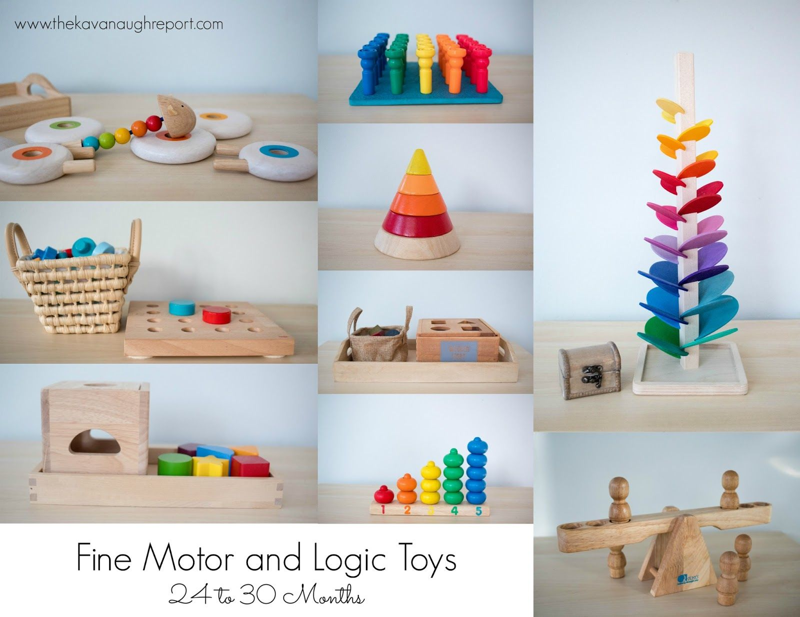 Here Is A List Of Our Favorite Montessori Friendly Toys