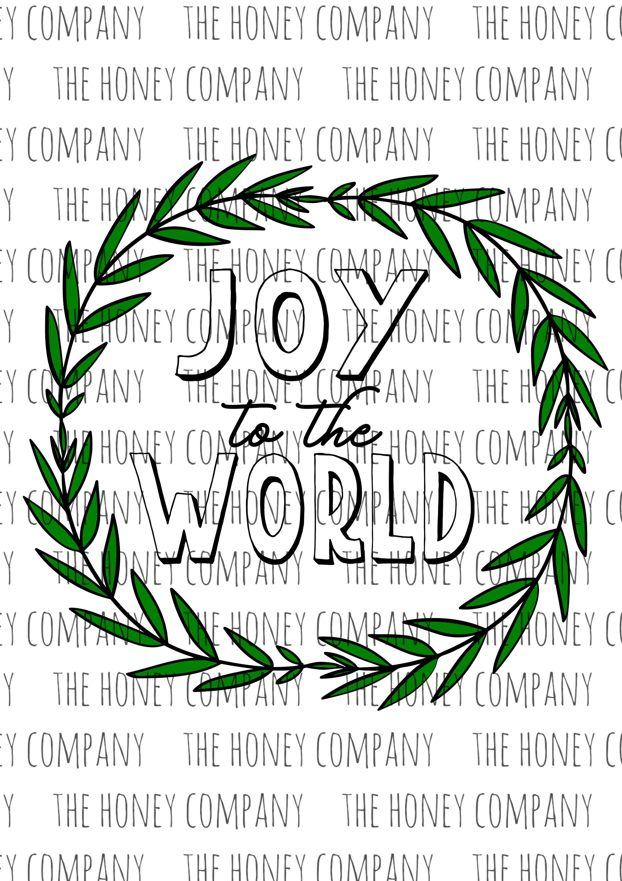 Joy to the world Christmas svg. Commercial use. svgfiles
