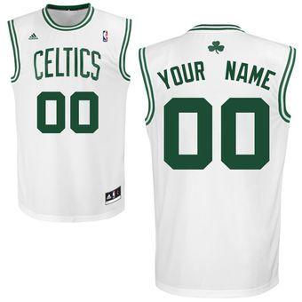 2efd67857 adidas Boston Celtics Custom Replica Home Jersey  celtics  nba  basketball