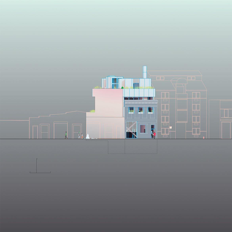 Mixed Use No. 2, Studio and Apartment