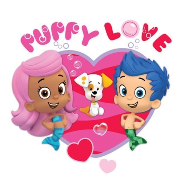 It's puppy love! #BubbleGuppies #NickJr | Hearts to hearts