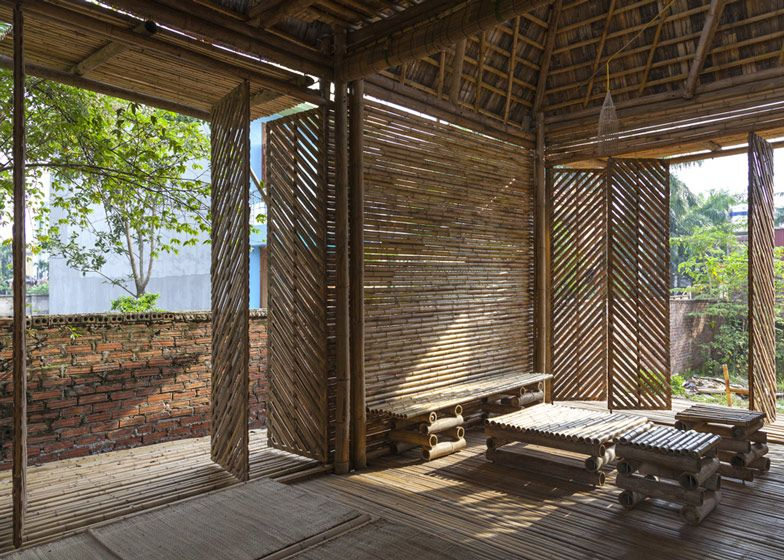 Blooming Bamboo Home By H P Architects Bamboo Pinterest