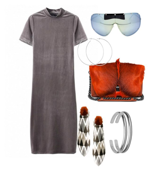 """""""🔥"""" by sheekshat on Polyvore featuring Bams, Allison Bryan and Maison Margiela"""