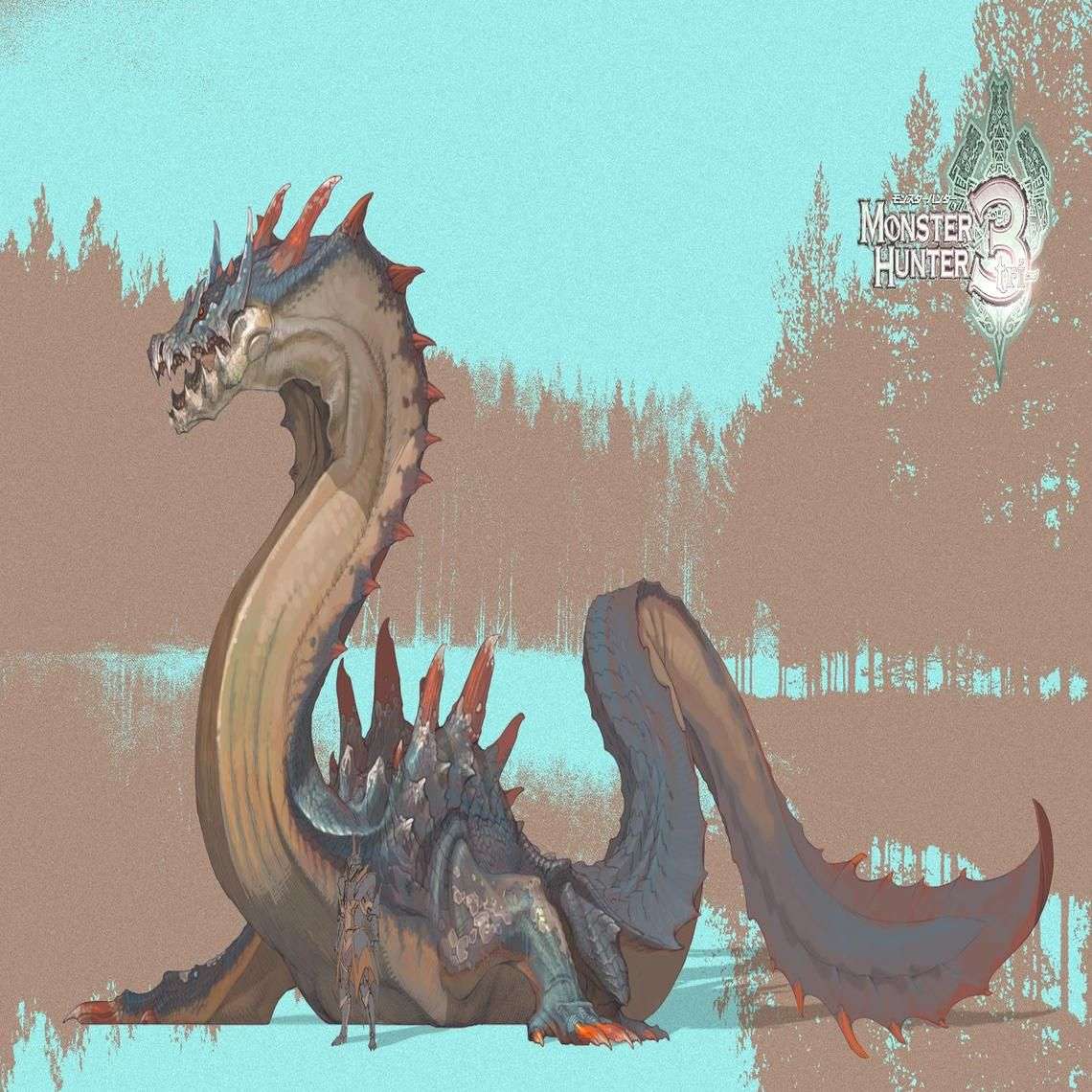 Lagiacrus Monster Hunter Art Monster Hunter Monster It is a greatly feared leviathan known as the lord of the seas that specializes in using specialized plates on its back to charge and electrify its enemies and prey. lagiacrus monster hunter art monster