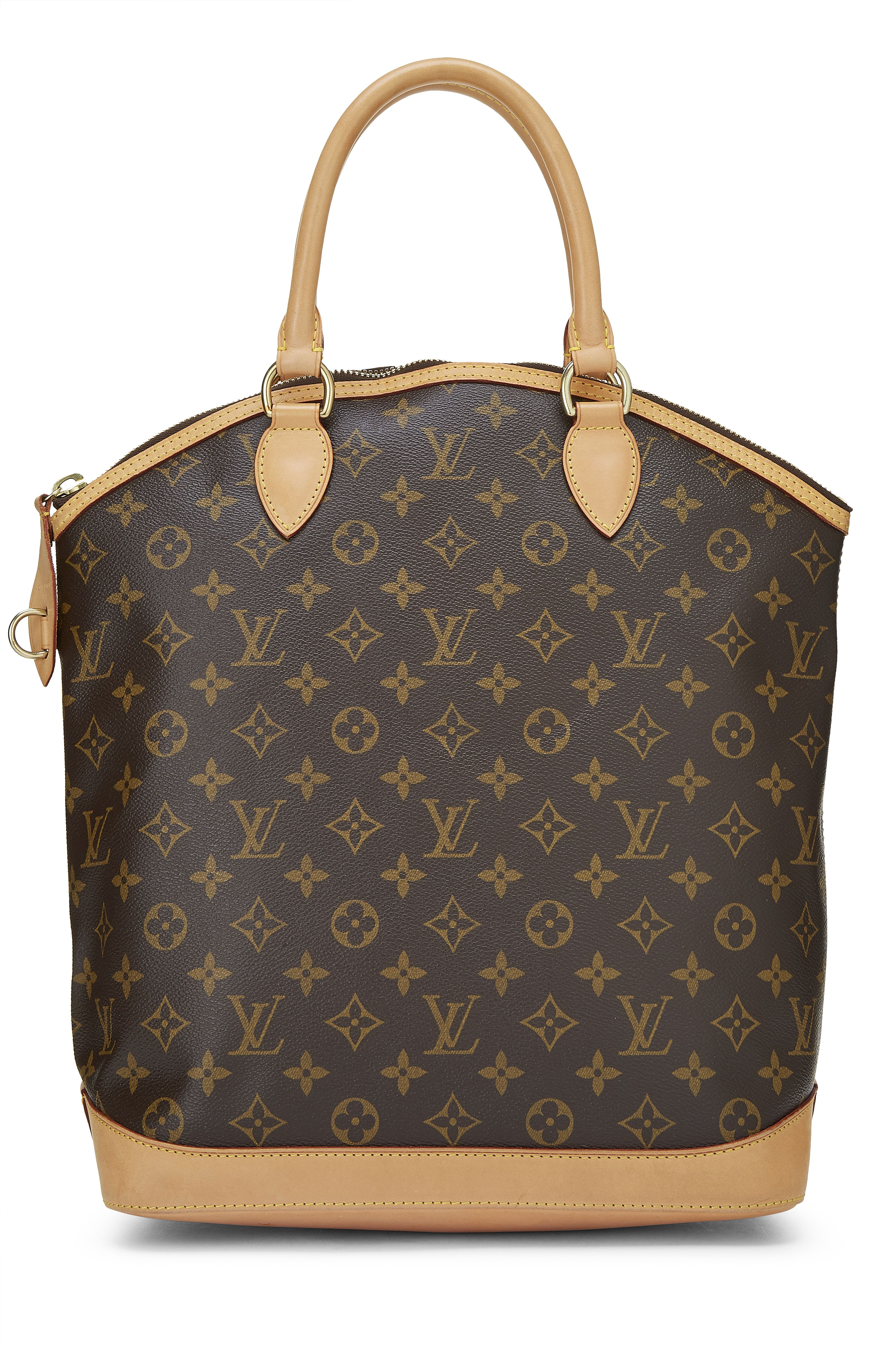 Louis Vuitton Monogram Canvas Lock It Vertical Han