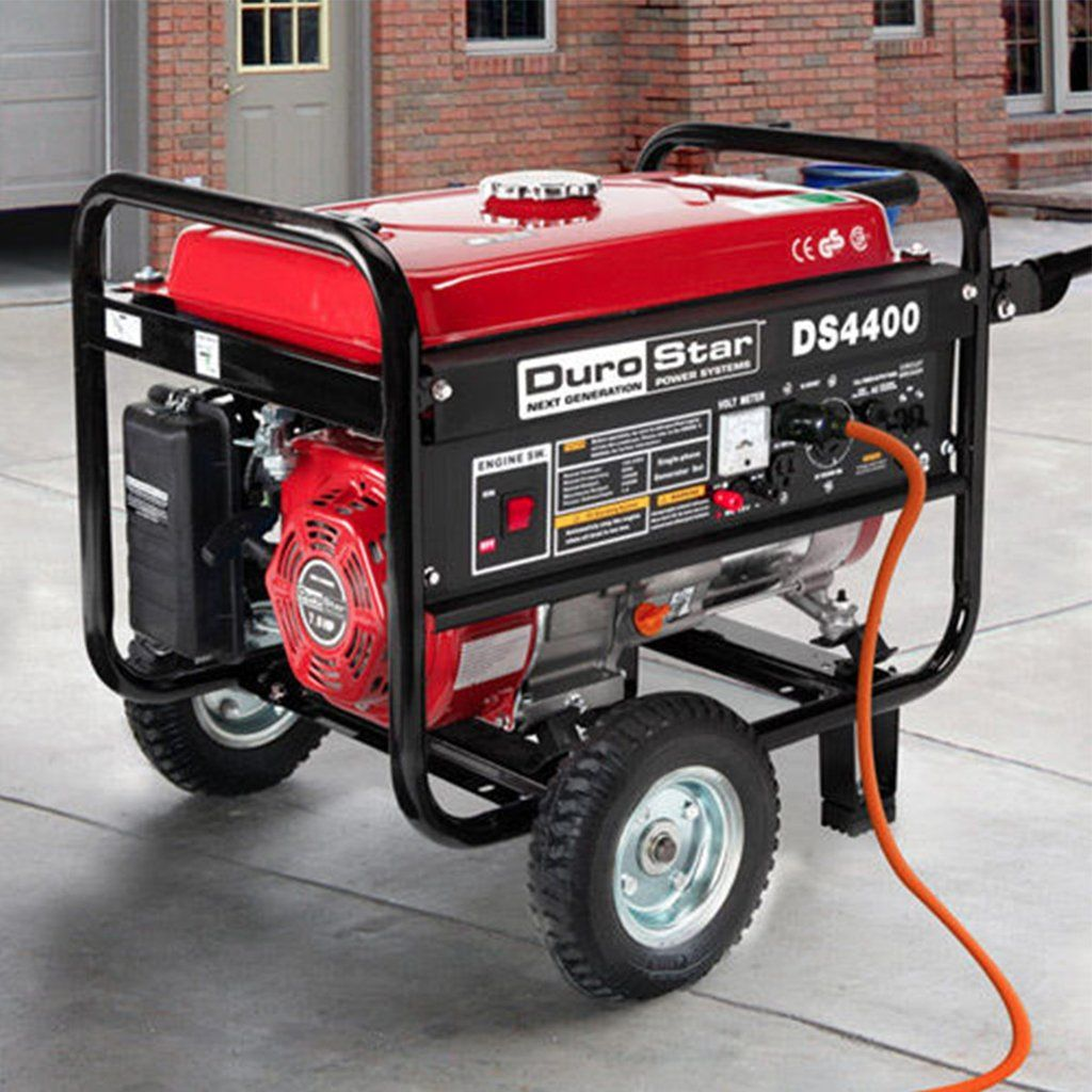 Durostar 4400 Watt Ultra Quiet Portable Gas Powered Generator 50 Off Free Shipping Wh Portable Electric Generator Gas Powered Generator Portable Generator